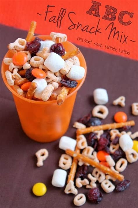 abc fall snack mix dessert now dinner later 787 | ABC Fall Mix1