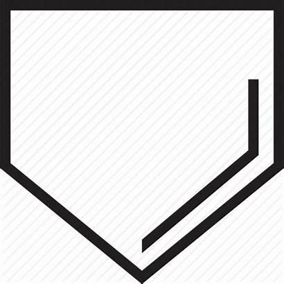 Baseball Plate Base Clipart Clip Transparent Vector