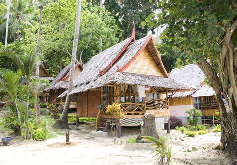Jungle Bungalow In Phi Phi Island Stock Image Image
