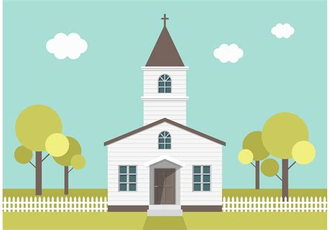 church clipart country church vector free vector stock