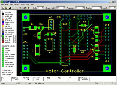 Top Free Pcb Design Software Electronic Circuits
