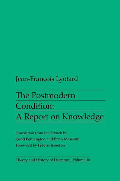 postmodern condition university  minnesota press