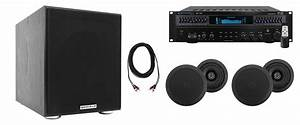 Technical Pro Home Theater Receiver 4  5 25 U0026quot  Black Ceiling