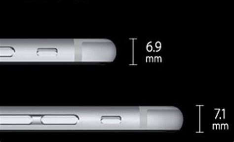iphone 6 thickness here s how the iphone 6 plus different from iphone 6