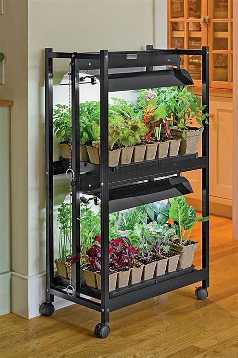 kitchen smart hydroponic kitchen garden system in simple