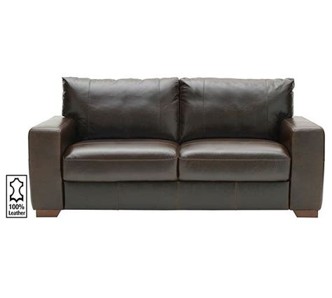 Buy Leather Sofa by Buy Of House Eton Large Leather Sofa Chocolate At