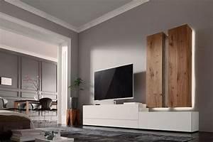 Wohnwand Günstig Online Kaufen : nw 440 von w stmann wohnwand 1004 bohleneiche bianco wohnw nde online kaufen ~ Bigdaddyawards.com Haus und Dekorationen