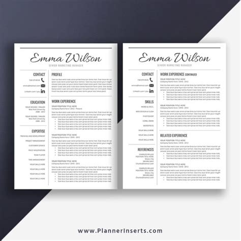 English teacher resume samples with headline, objective statement, description and skills examples. Simple CV Template Word, Curriculum Vitae, Clean CV Format ...