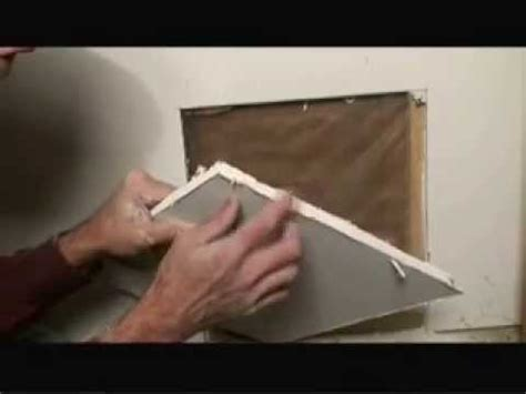 repair  large drywall hole video youtube