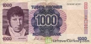 1000 Norwegian Kroner (Christian Magnus Falsen) - exchange ...