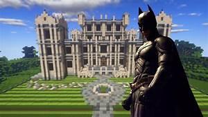Minecraft Manso Do BATMAN Com BATCAVERNA Wayne Manor