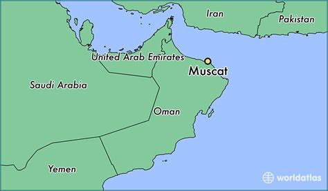 muscat oman muscat muhafazat masqat map