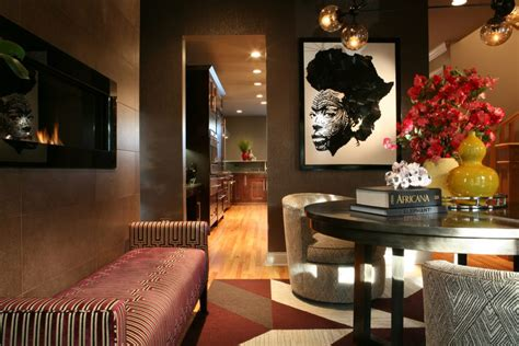 Home Interior Black Art : 5 Designs D'interieur D'inspiration Africaine. Vol.5