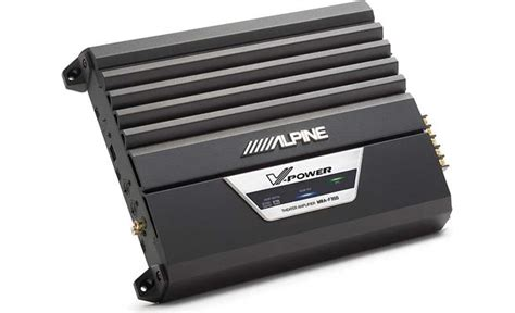 Alpine Mra-f350 5-channel Digital Theater Car Amplifier 50