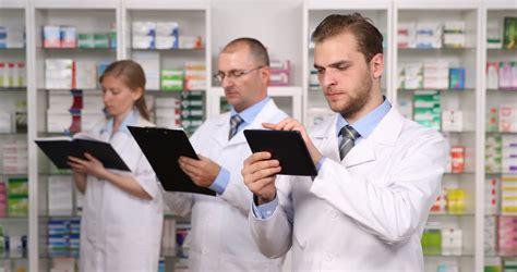 Employee Pharmacy by Happy Coffee Shop Worker In An Informal Meeting