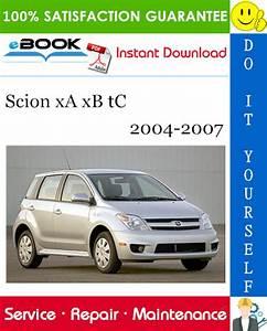 Scion Xa Xb Tc Service Repair Manual 2004