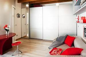 Monolocale di 25 mq, con soluzioni salvaspazio Cose di Casa