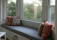 bay window cushions Custom Bay Window Cushions: Perfect Size & Look; Made In USA