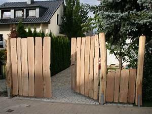 Gartentore Aus Holz Bilder : outdoor holzunikat ~ Michelbontemps.com Haus und Dekorationen