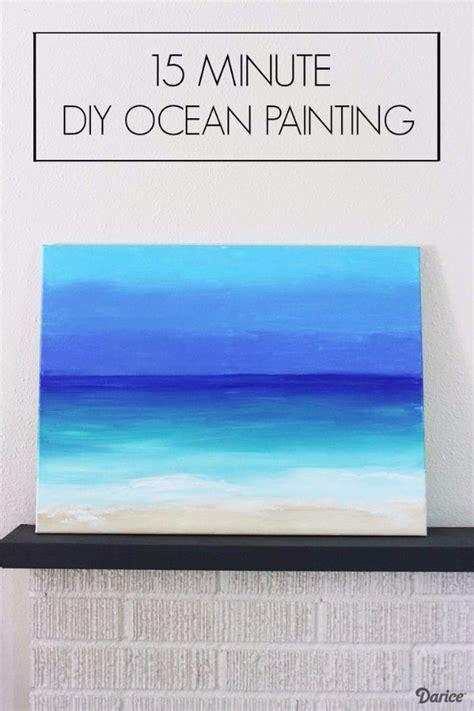 Painting Ideas Diy by 36 Diy Canvas Painting Ideas Diy