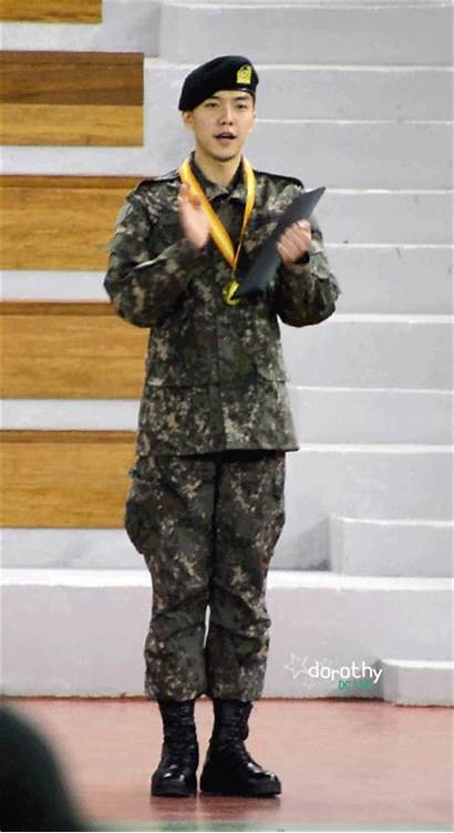 Army Training Gifs Completion Lee Gi Seung
