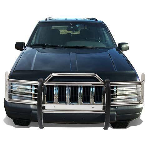 jeep bumper grill 93 98 jeep grand cherokee zj front bumper protector brush