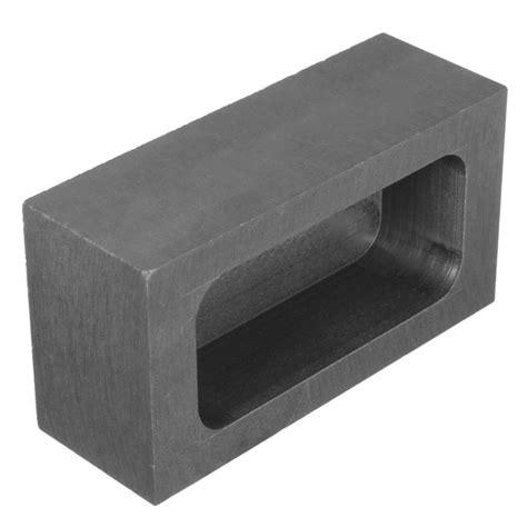 xxmm graphite crucible casting melting ingot mold  refining melting oz silveroz