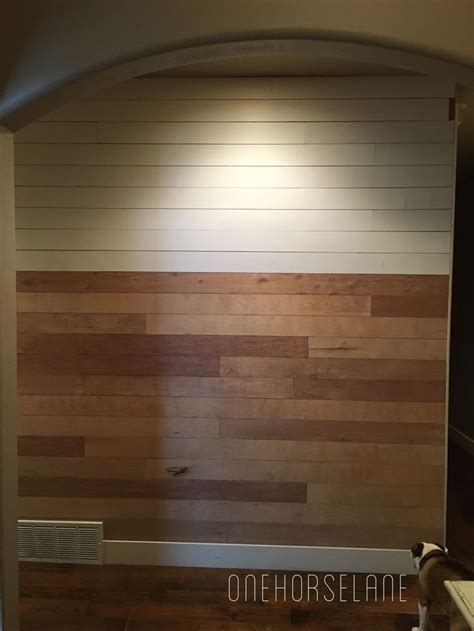 Where Do I Find Shiplap by Diy Shiplap Wall Easy Cheap And Beautiful Part 1 Home