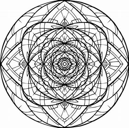 Mandala Tattoo Rose Vesica Geometry Sacred Drawing