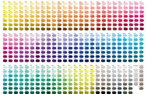 Zalanthan Color Charts
