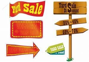 Yard Sale Sign Vectors - Download Free Vector Art, Stock ...