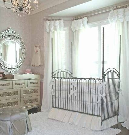 bratt decor quot venetian quot crib pewter inspired nursery
