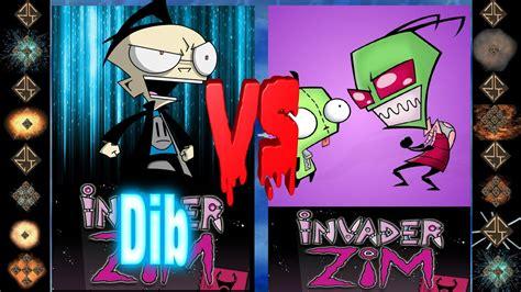 Dib (nickelodeon) Vs Invader Zim (nickelodeon)