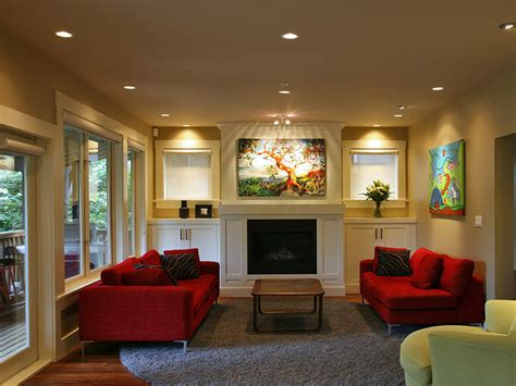awe inspiring red sofa decorating ideas