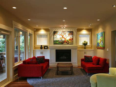 red sofa living room decor awe inspiring red sofa decorating ideas