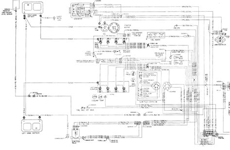 diesel engine wiring diagram gm square body