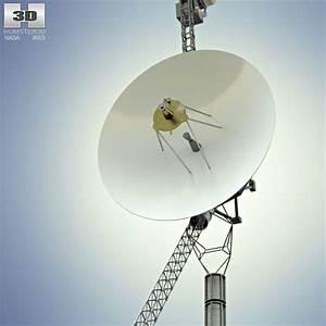 Voyager 1 3D model - Humster3D