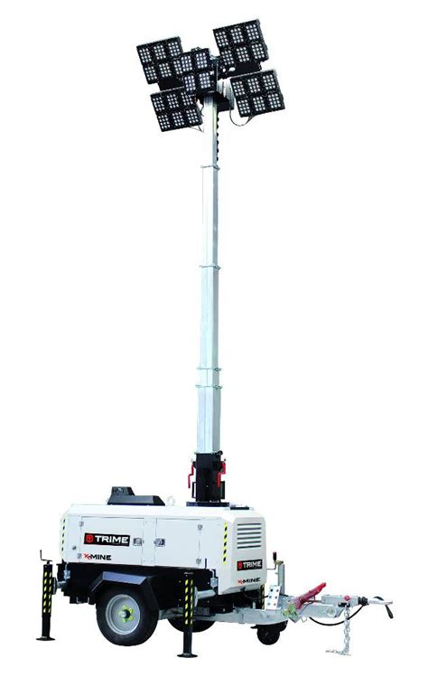 Light Tower For Sale by Used X Min Mobile Bergbau Lichtmast Light Towers For Sale