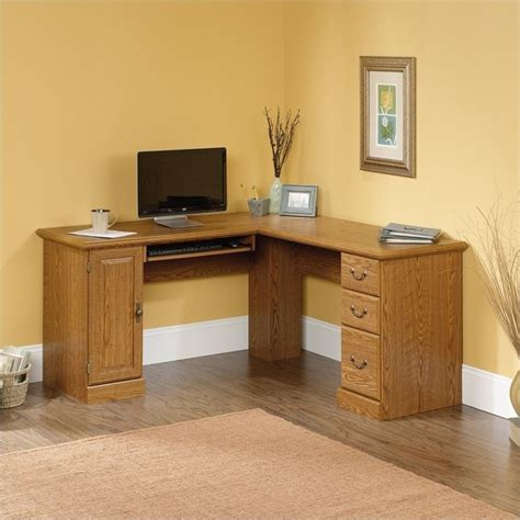 sauder orchard hills corner computer desk sauder orchard hills l shaped computer desk in carolina
