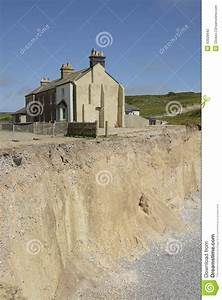 House On Cliff Edge In Sussex. England Editorial ...