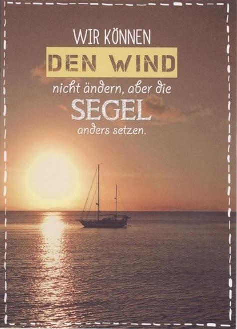 postkarte spruch lebensweisheit wir koennen den wind nicht