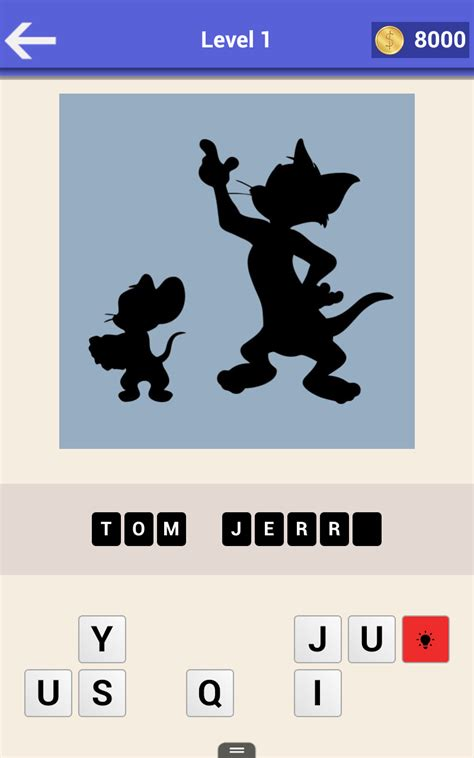 amazoncom guess  cartoon shadow pairs quiz appstore