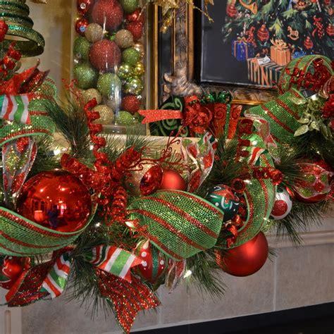 christmas mantles garland ideas garlands  holidays