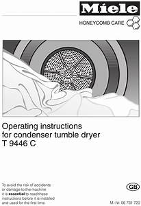 Miele T 9446 C Operating Instructions Manual Pdf Download