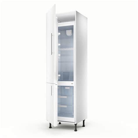 meuble colonne cuisine meuble de cuisine colonne blanc 2 portes h 200 x l 60 x p 56 cm leroy merlin