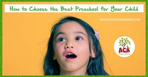 how to choose a preschool in gainesville florida a 333 | how to choose a preschool