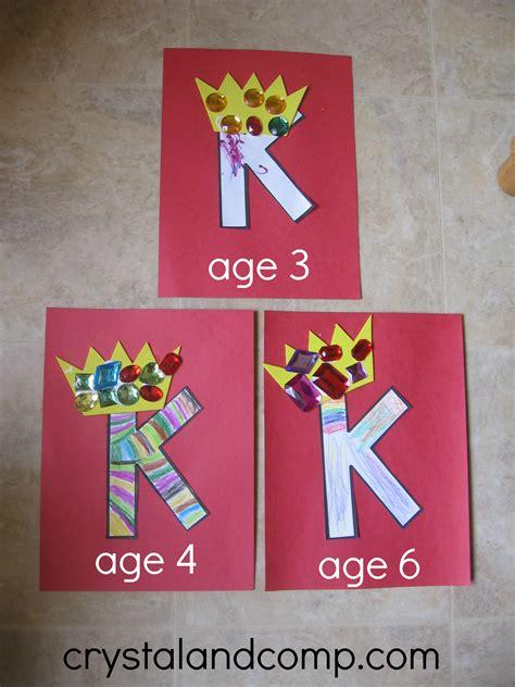 alphabet activities for preschoolers k is for king 471 | K is for King 7 crystalandcomp
