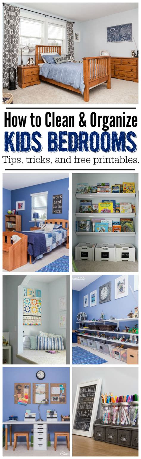 How To Organize Kids Bedrooms  Clean And Scentsible