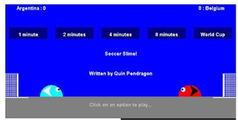 slime soccer game   play slime soccer