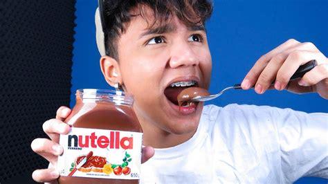 provando nutella pela primeira vez youtube
